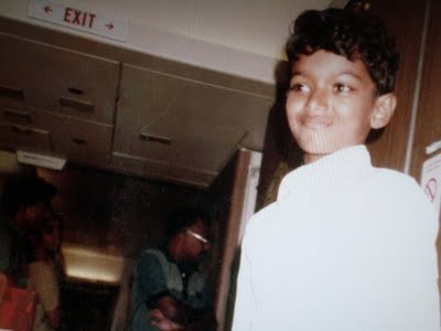 Childhood Vijay