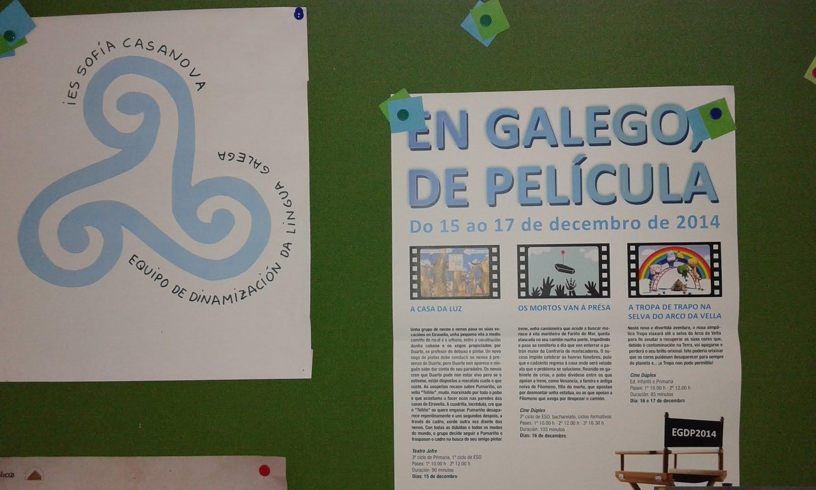 En Galego.-