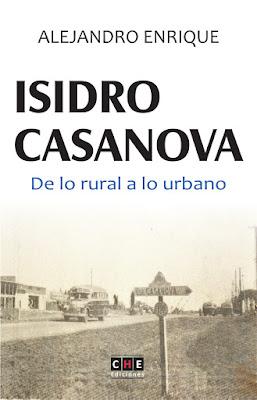 EL NUEVO LIBRO SOBRE LA HISTORIA DE ISIDRO CASANOVA