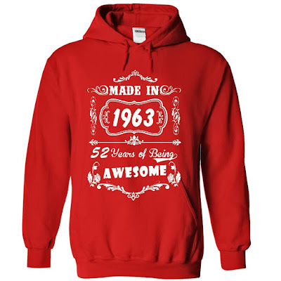 Made In 1963 Hoodies