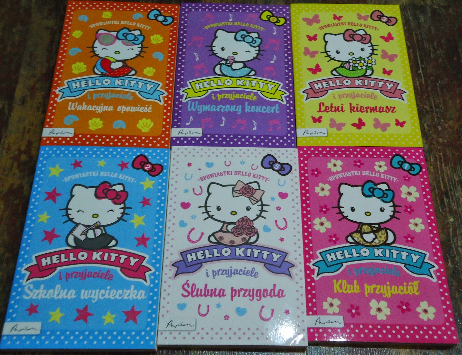 Moje Czytanie Hello Kitty I Przyjaciele ślubna Przygoda