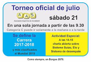 21 de julio - Argentina