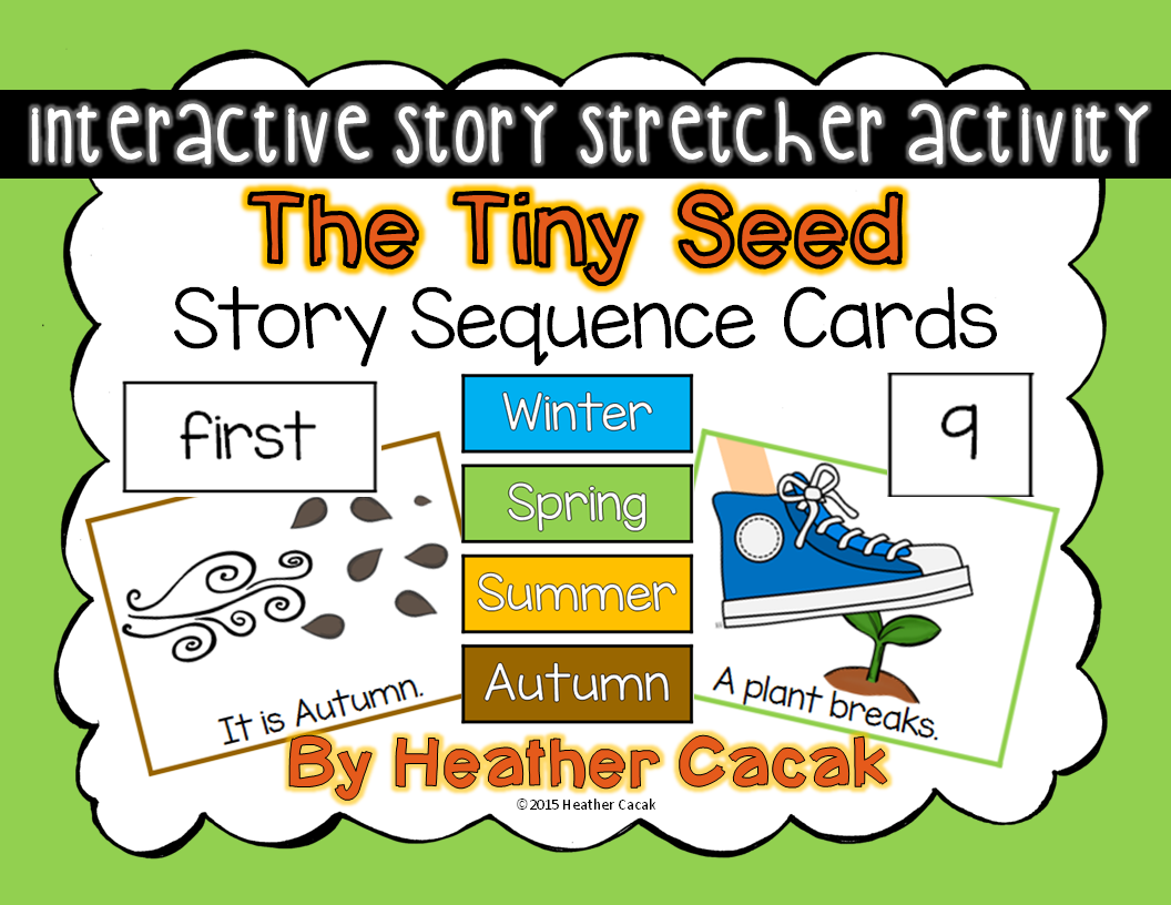 The Tiny Seed Story Sequence Cards – The Tiny Seed Worksheets