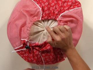 Como hacer un puff infantil portal de manualidades - Como rellenar un puff ...