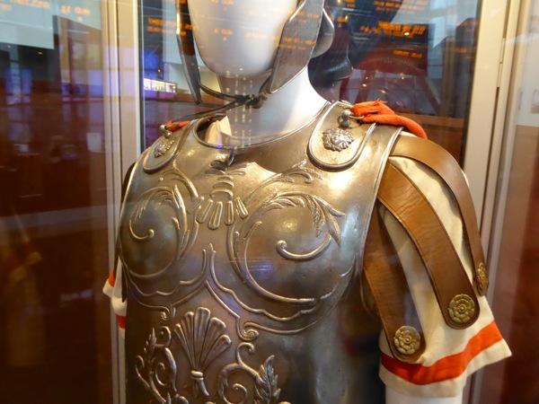 Roman Centurion costume detail Hail Caesar