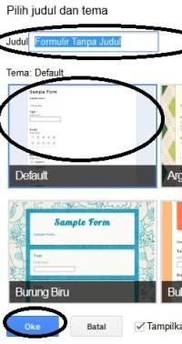 Membuat Form Contact Us Formulir Kontak Blogger di Google Drive