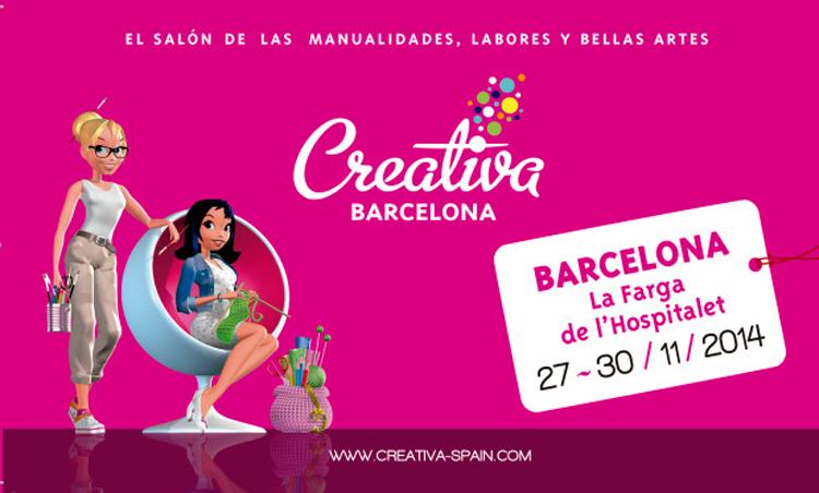 creativa barcelona, feria labores barcelona, feria manualidades barcelona, feria creativa, plan b barcelona, barcelona, feria scrapbooking barcelona