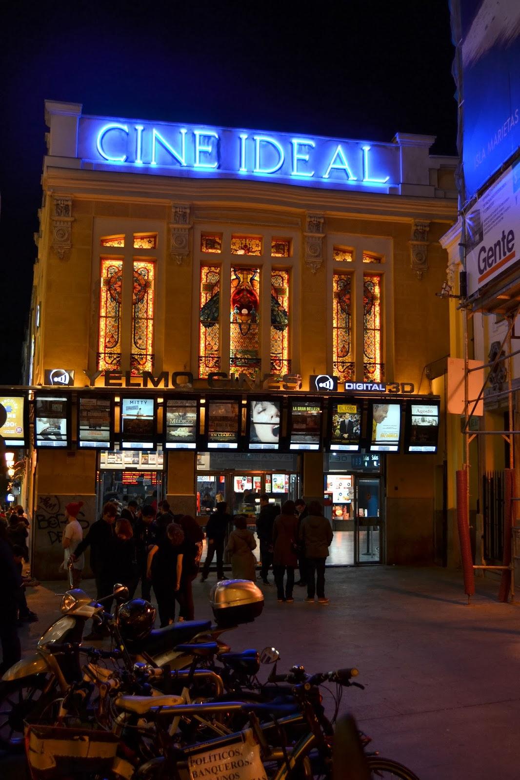 Cola en el Cine Ideal de Madrid, donde sí se estrenó el film de Scorsese. / D. Fonseca