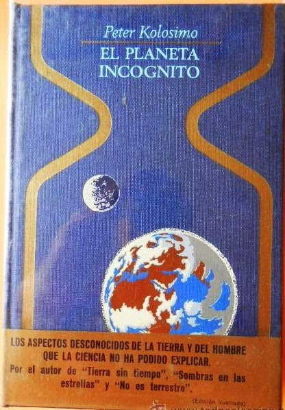 Portada Otros Mundos de El Planeta Incógnito de Peter Kolosimo