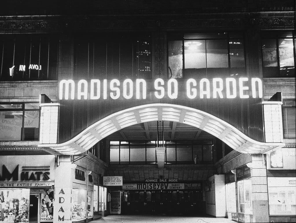 The Nyc Big Adventure Madison Square Garden The Fourth
