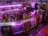 Beluga bar Villefranche inside