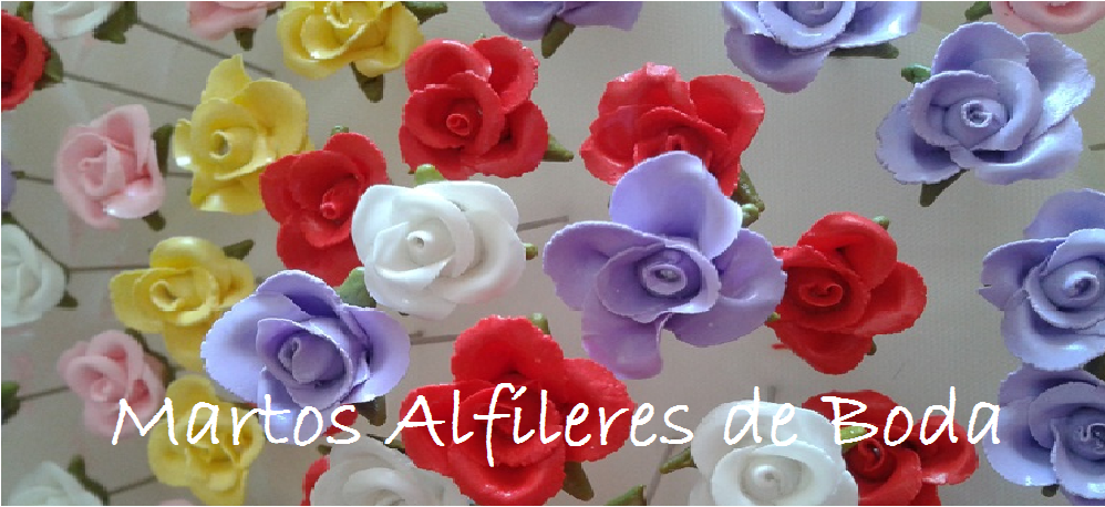 ALFILERES DE BODA MARTOS