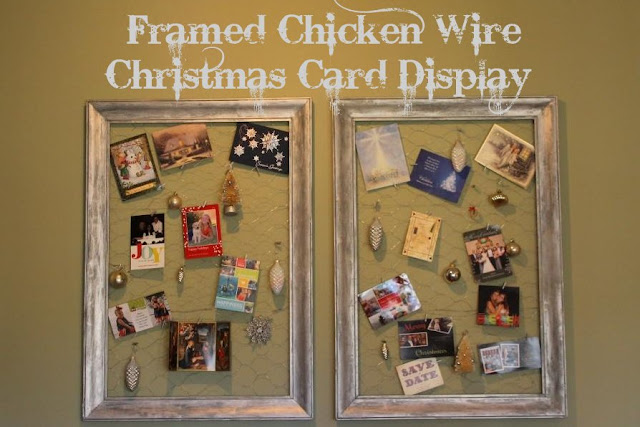 how to frame chicken wire