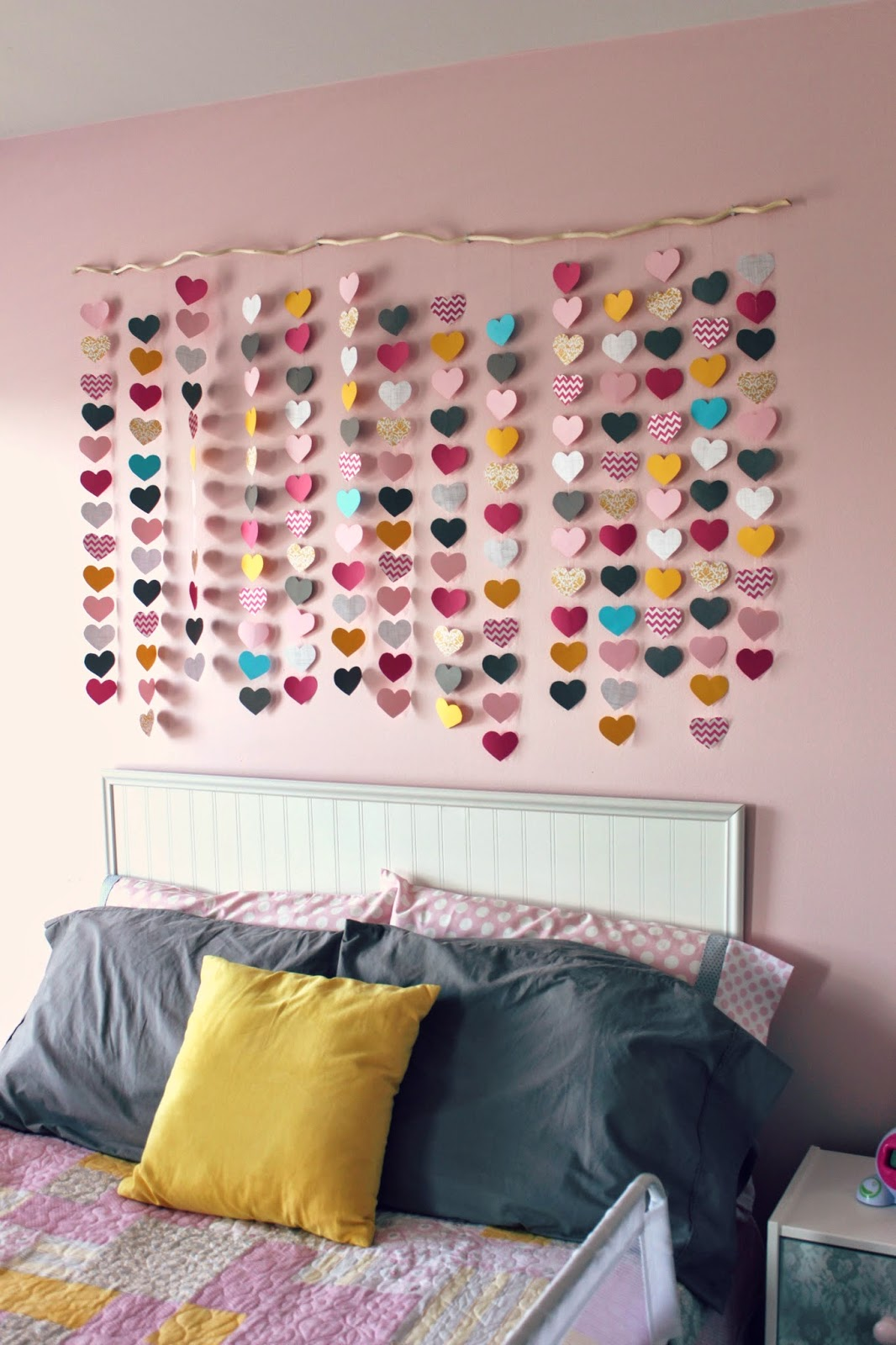 All things diy room reveal girl 39 s bedroom on a budget for Things in the bedroom