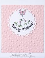 Merry Kissmas - photo by Deborah Frings - Deborah's Gems