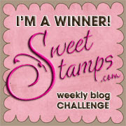 I won at Sweet Stamps