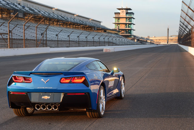 2014 Corvette Stingray Is this Year's Indy 500 Pace Car