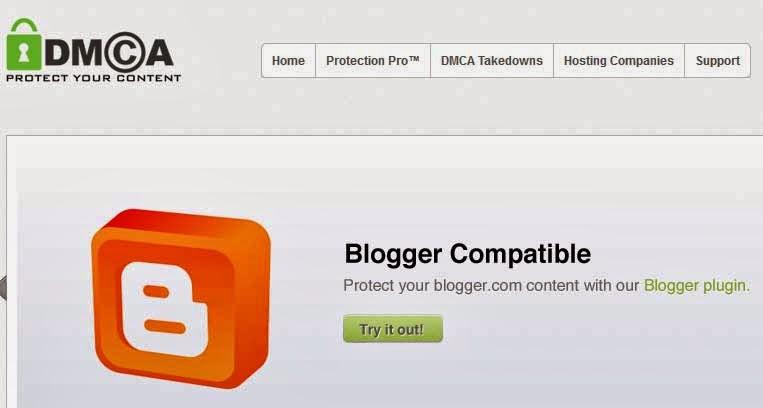 memproteksi konten blog kamu dengan DMCA