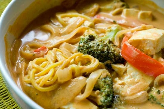 Red Curry Noodles