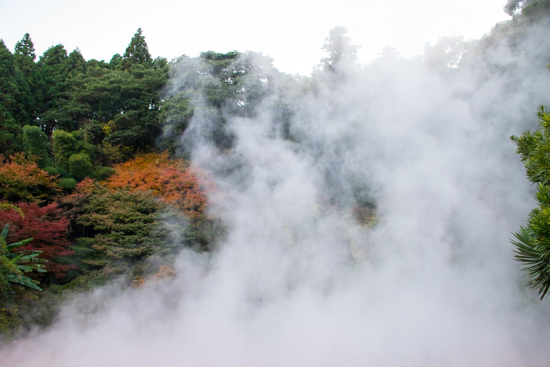 Beppu hells hotspring