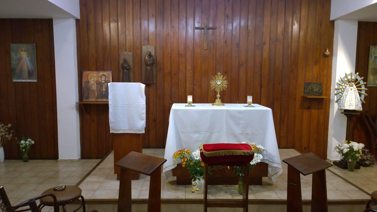 """Capilla """"María Reina de los Apóstoles"""""""