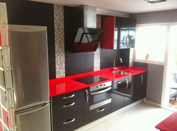 Nuevos materiales para la fabricación de muebles de cocina | Cocinas ...