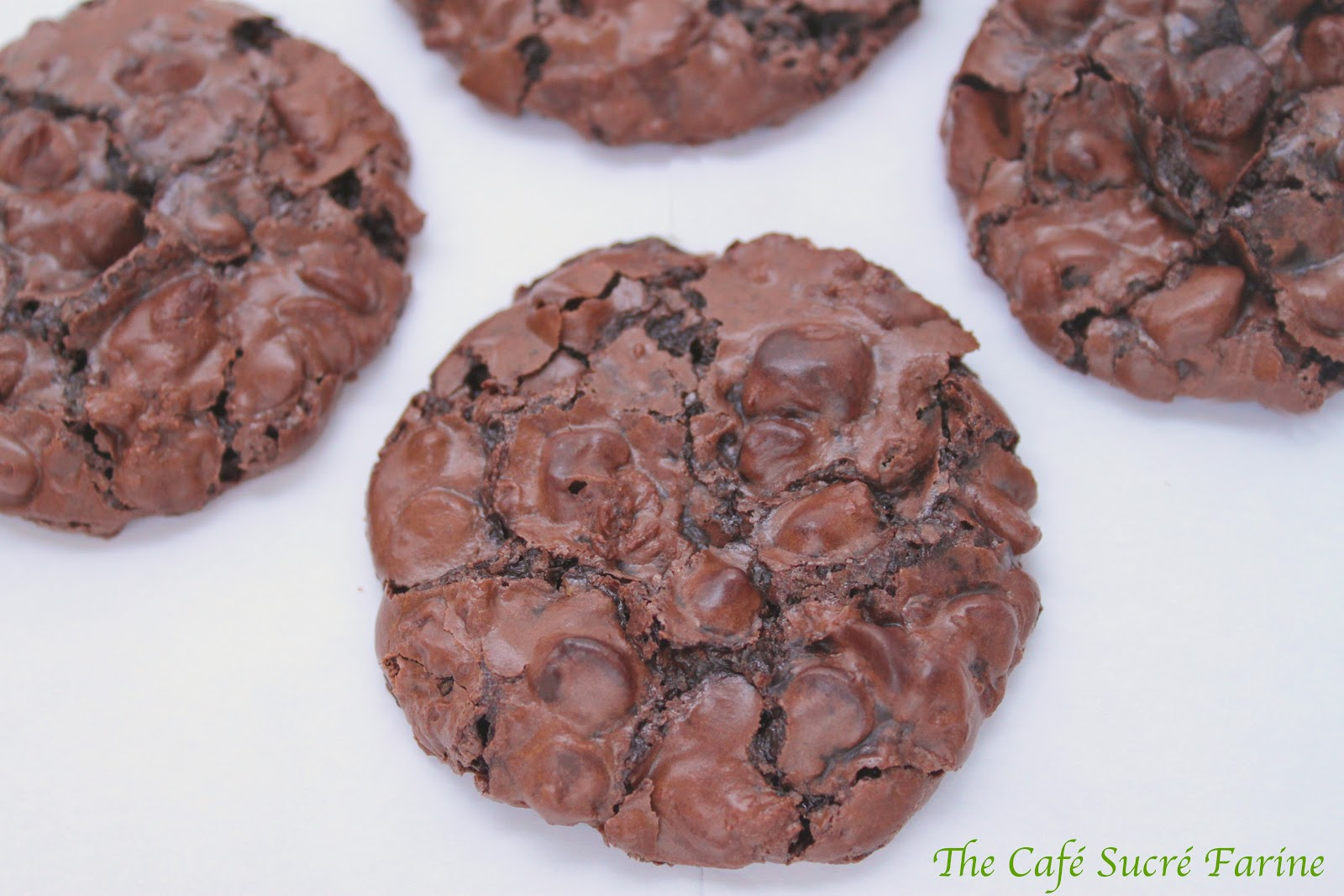 Chocolate Chewy Meringue Cookies | The Café Sucre Farine
