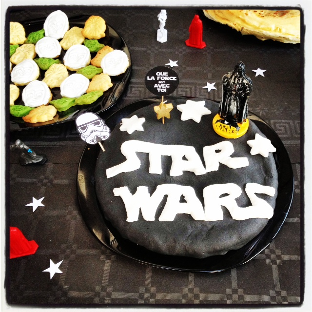 Gateau star wars facile a faire