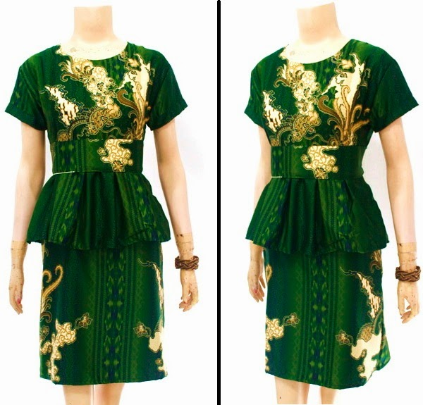 Dress Batik Semi Sutra