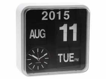 Klokke som viser dag og dato
