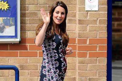 Kate Middleton dimasukkan ke Wad Bersalin