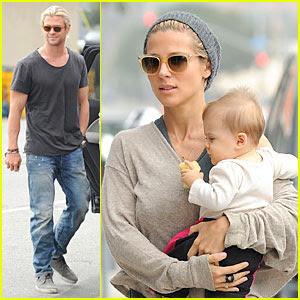 Chris Hemsworth Wife Elsa Pataky 2013