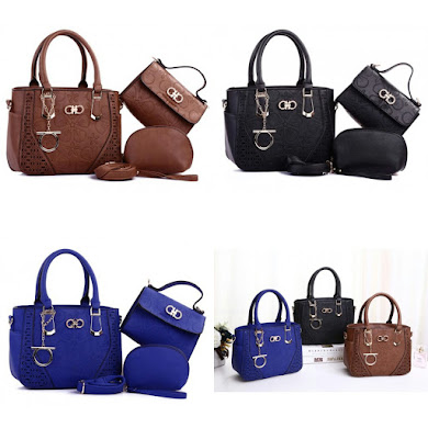 HANDBAG GRED AAA - BLACK , BLUE , BROWN