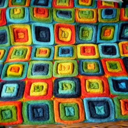 Squares On The Roll - Free Pattern
