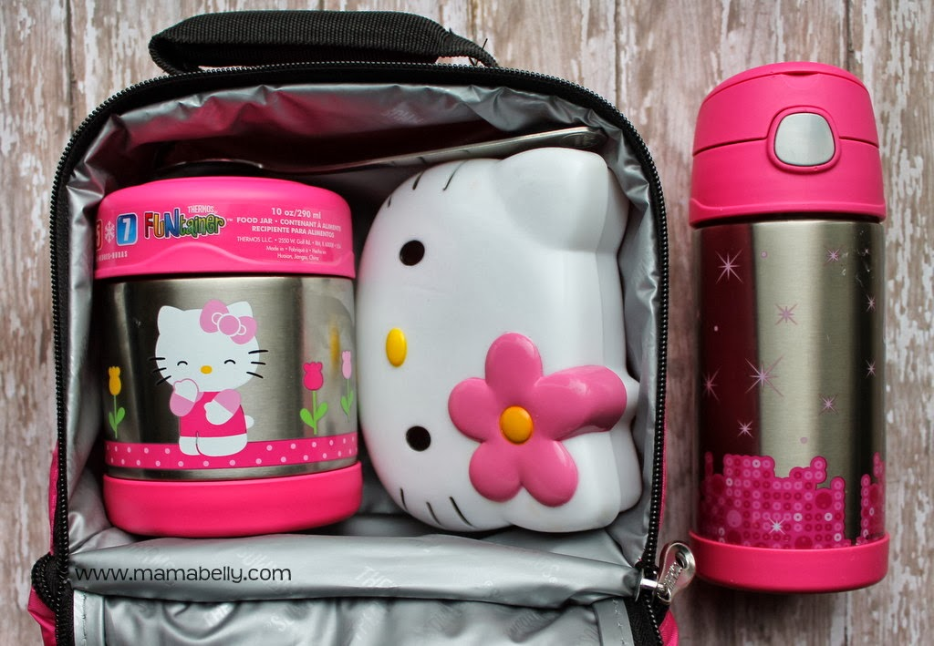 I love how soft the Hello Kitty Lunch pack is and how roomy! The convenient  bottom compartment holds our FUNtainer water bottle with ice pack and the  top ... 528f5c2181