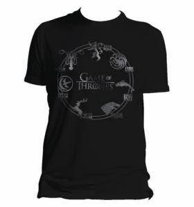 camiseta siete reinos juego de tronos