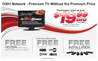 satellite TV-$19.99/month