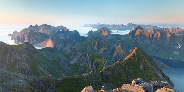 Lofoten islands, Norway, by Alex Nail