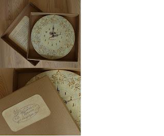 оригинальные часы, винтаж, кракелюр, оригинальный подарок на заказ