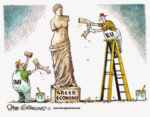 La Grecia non può pagare i debiti: la Borsa crolla