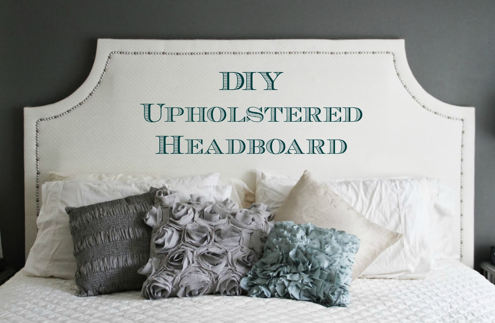 running from the law diy upholstered headboard. Black Bedroom Furniture Sets. Home Design Ideas