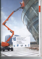 Articulating Boom Lift Tangga Otomatis