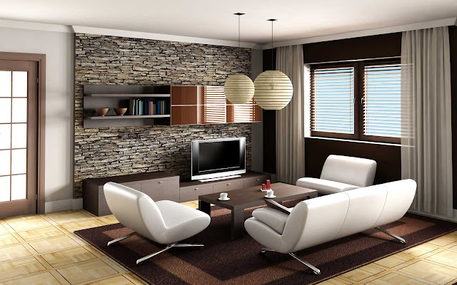 Living Room Decor Ideas for Glittering Modern Home Interior
