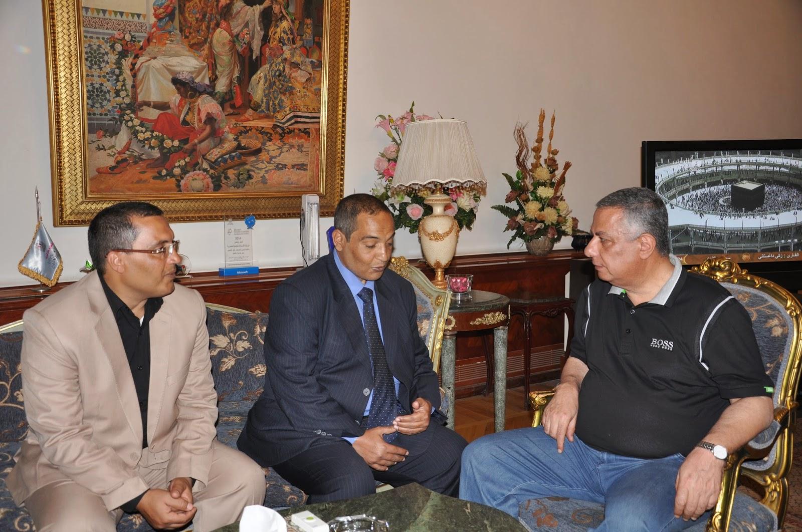 #alkoga, AL-Hussieny Mohammed, D. Mahmoud Abou El Nasr, Minister of Education,