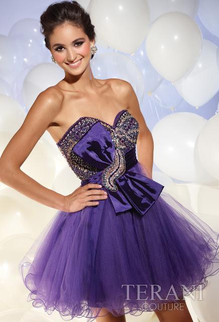 Vestidos cortos de fiesta terani 2012 37 - Gen� K�z Abiye Modelleri