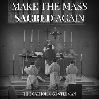 Sacredness of the mass restores it's beauty, strength and holiness.