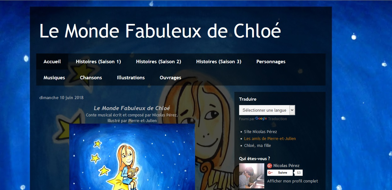 Blog du Monde Fabuleux de Clhoé