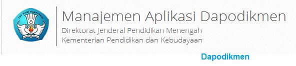 Mengenal Aplikasi Dapodikmen, Download Aplikasi Dapodikmen, Dapodiken img