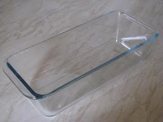 pyrex glass loaf pan