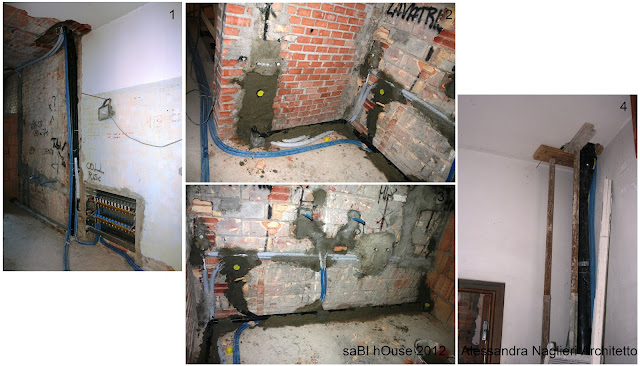 riscaldamento a pavimento under floor heating